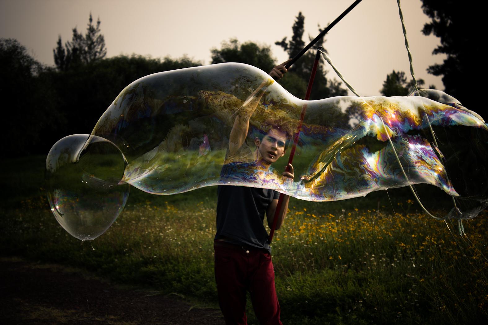 Burbujas enormes