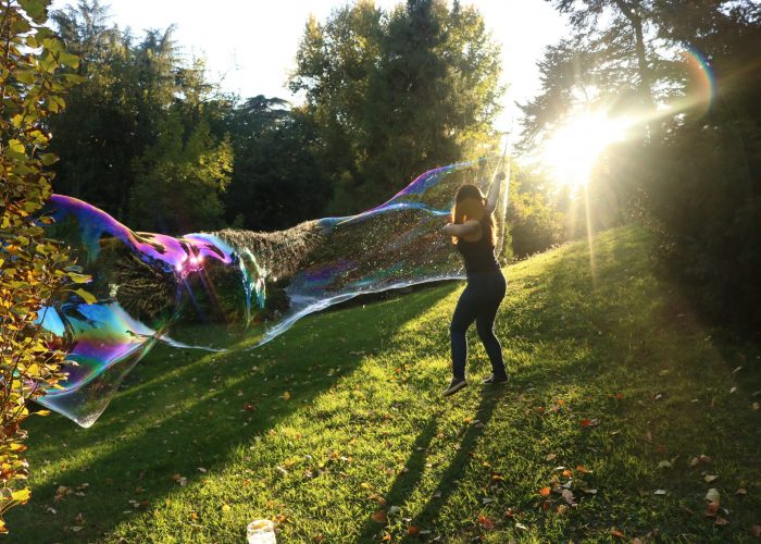 Burbujas Goigantes