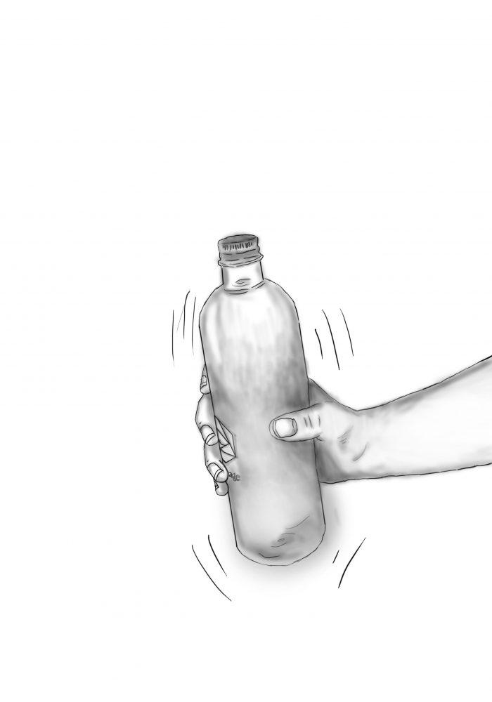 Botella de Burbujas
